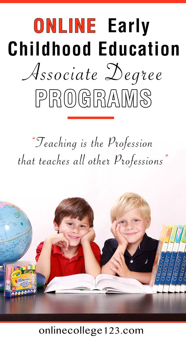 How to choose the right online early childhood education associate degree program