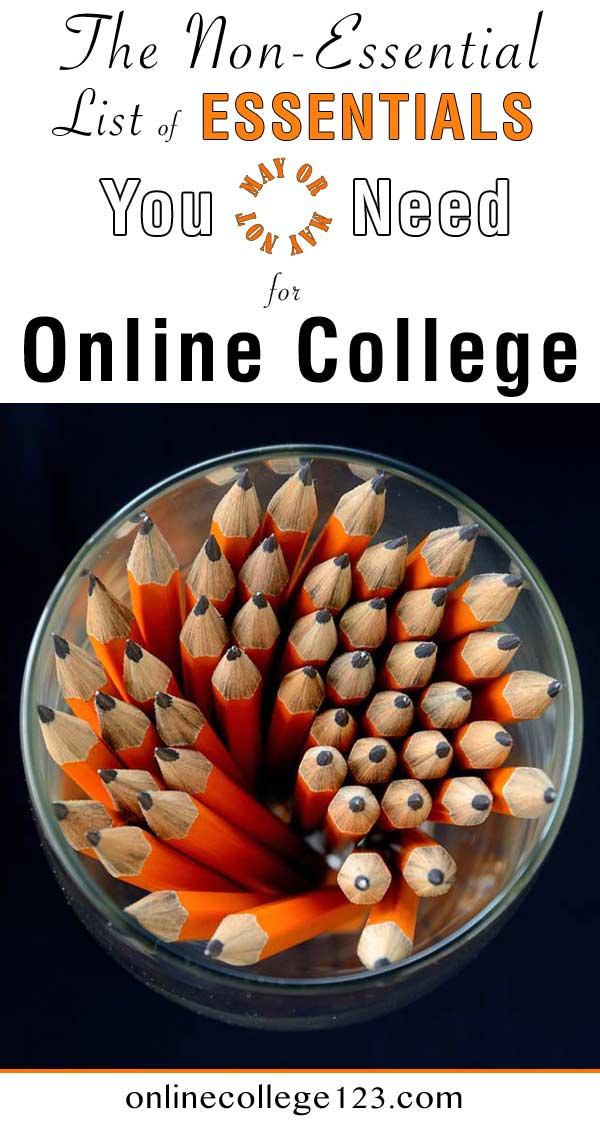 List of online college supplies you may need in your online education
