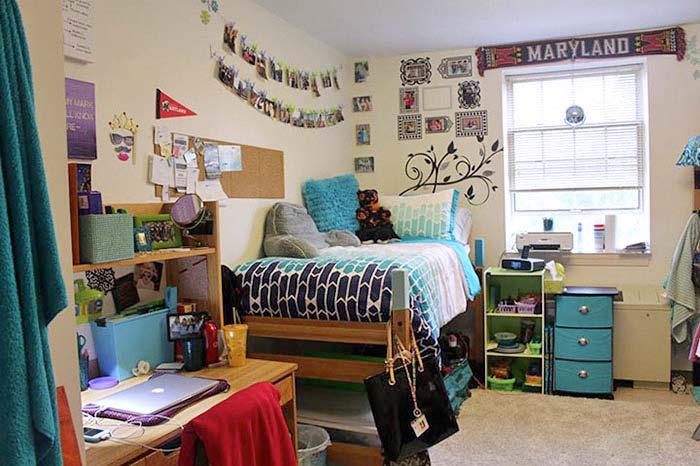 University of Maryland dorm room