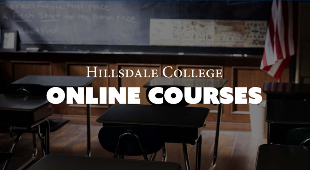Find free online college classes at Hillsdale College